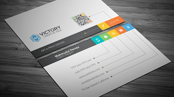 Free Business Card Templates Download Free Business Card - Social media business card template free