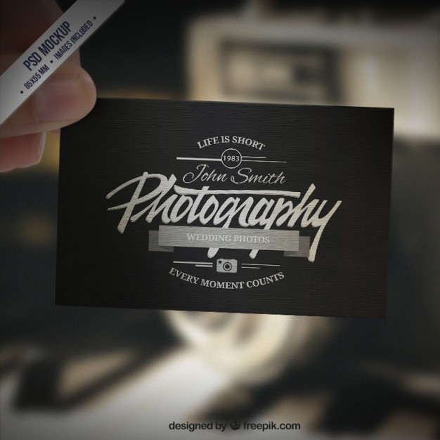1500 free business card templates download free business card 245 free psd cards photographer business cards accmission Gallery
