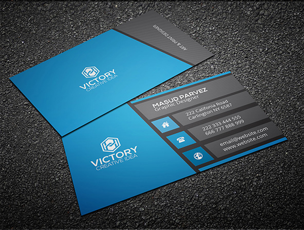 1500 Free Business Card Templates : Download Free Business ...