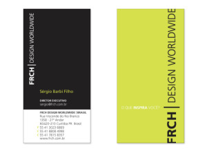 brazil business card
