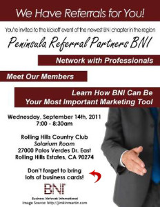 networking event invite