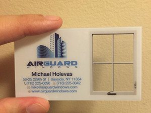 design advantages with plastic business cards