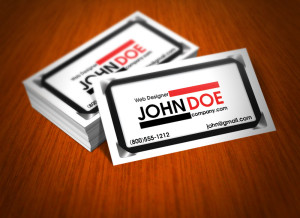 Standard 14 Point Business Cards