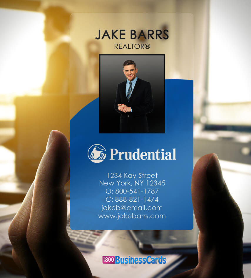 Prudential Plastic Business Card