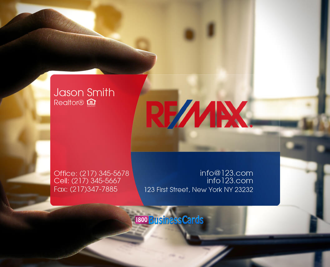 10 absolutely stunning clear plastic business cards the printing remax plastic business card colourmoves
