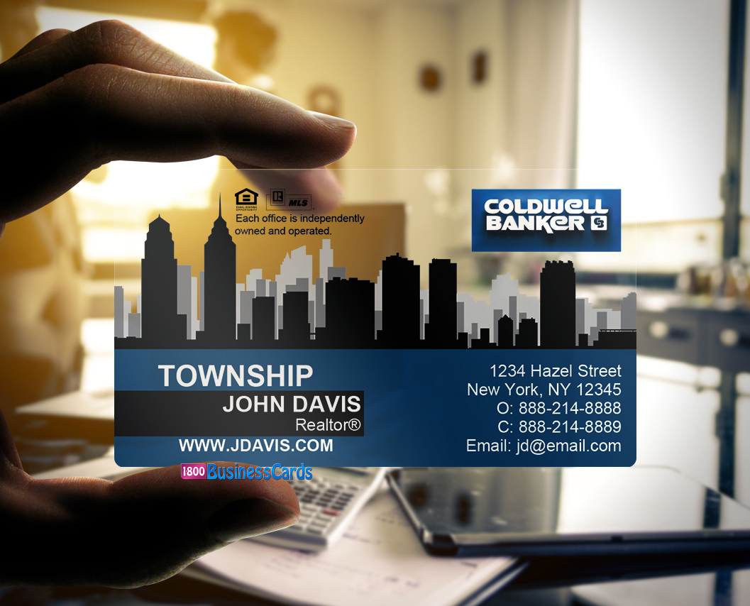 Coldwell Banker Plastic Business Card